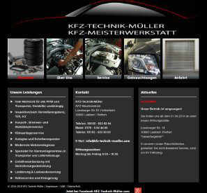 Kfz technik mueller Autowerkstatt Laatzen website old